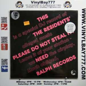 The Residents Please Do Not Steal It! RSD LP 1