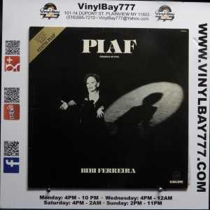 Bibi Ferreira Piaf Used Brazil Import M- LP 1