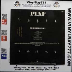 Bibi Ferreira Piaf Used Brazil Import M- LP 2