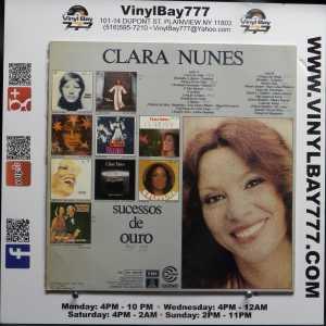 Clara Nunes Sucessos De Ouro Used M- Brazil Import LP 2