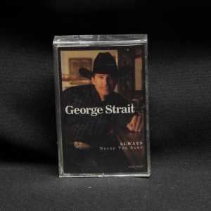 George Strait Always Never The Same Cassette 1