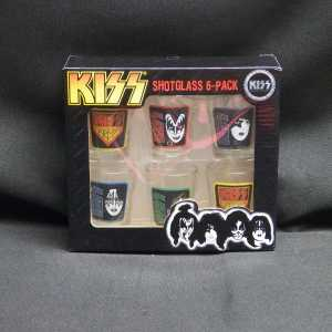Kiss Shot Glass 6 Pack 1