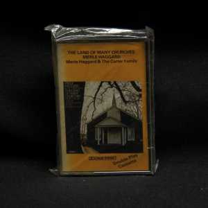 Merle Haggard & The Carter Family The Land Of Many Churches Cassette 1