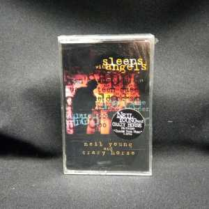 Neil Young and Crazy Horse Sleeps With Angels Cassette 1