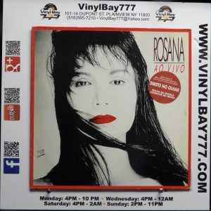 Rosana Ao Vivo Used Import M- LP 1