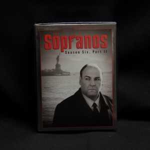 The Sopranos Season Six Part II Used 4 DVD Set 1