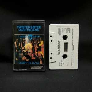 Twisted Sister Under The Blade Used Cassette 1
