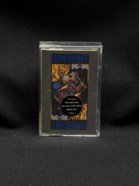Sealed Cassette Warrant Dog Eat Dog 1992 Columbia Records