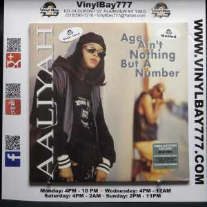 Aaliyah Age Ain't Nothing But A Number Reissue LP 1