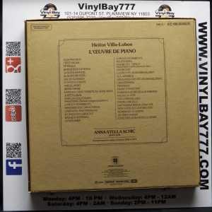 Anna-Stella Schic Villa-Lobos L'Oeuvre De Piano Used 9xLP Box Set 2