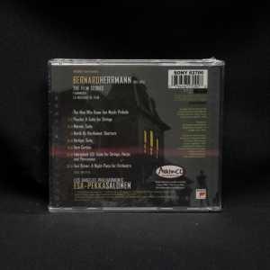 Bernard Herrmann Los Angeles Philharmonic Salonen The Film Scores CD 2