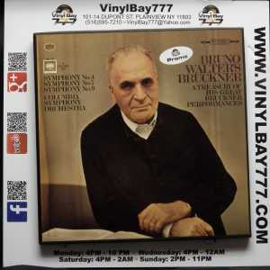 Bruno Walter's Bruckner A Treasury of His Great Bruckner Performances Used Promo 4xLP Box Set 1