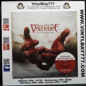 Bullet For My Valentine Temper Temper LP 1