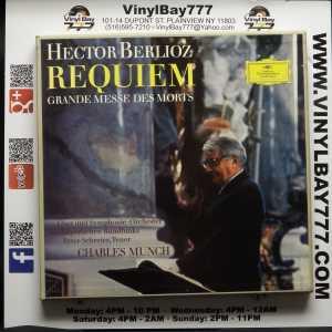 Charles Munch Chor und Symphonie-Orchester des Bayerischen Rundfunks Peter Schreier Hector Berlioz Requiem Grande Messe Des Morts Used Import 2xLP 1