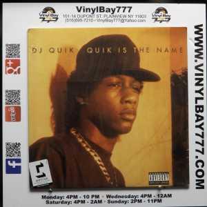 DJ Quik Quik Is The Name 2017 Reissue LP 1