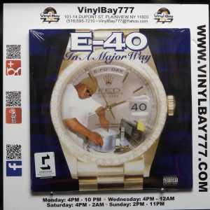 E-40 In A Major Way 2017 Reissue LP 1