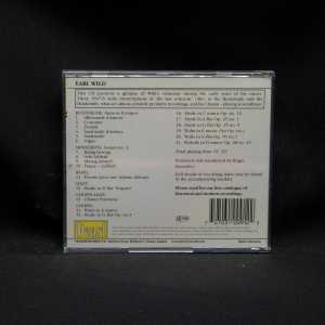 Earl Wild Piano Masters Chopin Buxtehude Hindemith Ravel Liszt Chopin-Liszt CD 2