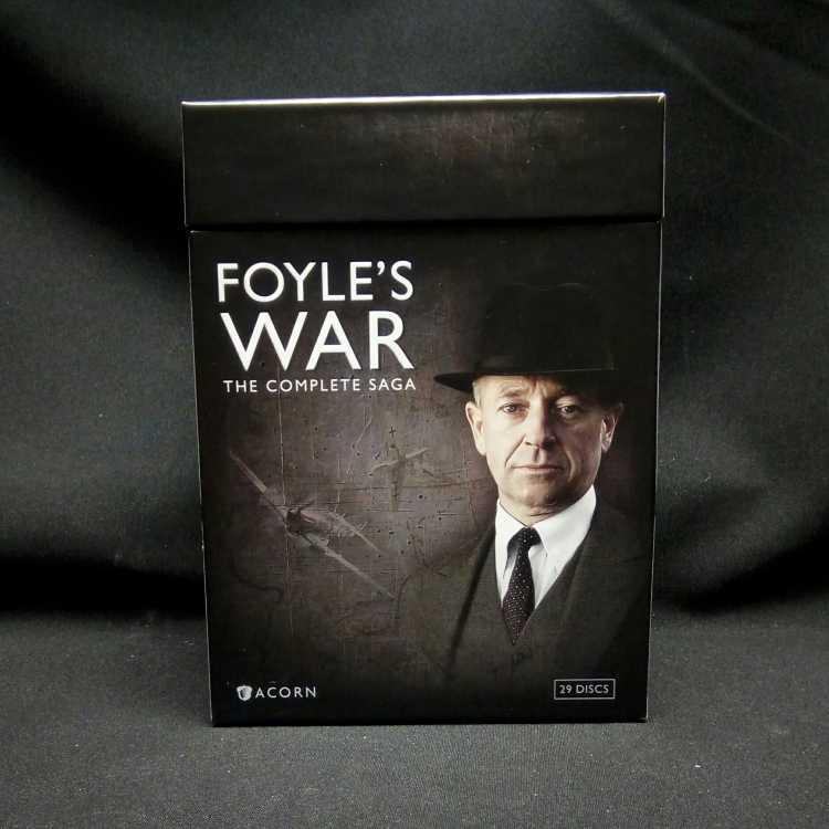USED 29 DVD Box Set Foyle's War: The Complete Saga 2012 Acorn