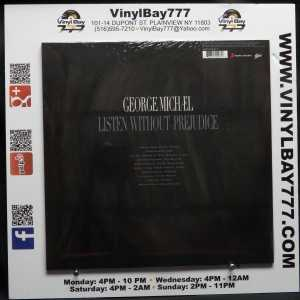 George Michael Listen Without Prejudice LP 2