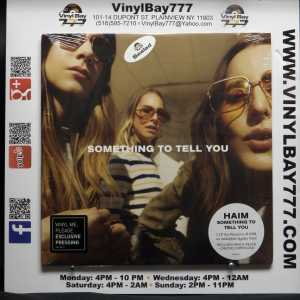 Haim Something To Tell You Numbered 0076 Vinyl Me Please LP 1