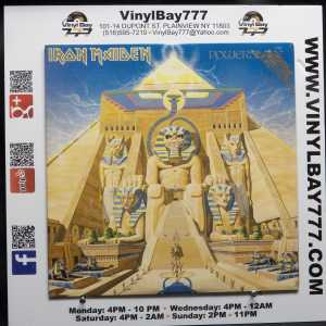Iron Maiden Powerslave Used M- Promo LP 1