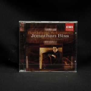 Jonathan Biss Beethoven Schumann Piano Works CD 1
