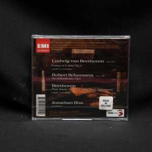 Jonathan Biss Beethoven Schumann Piano Works CD 2