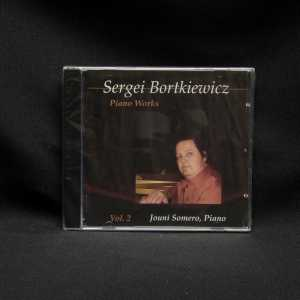 Jouni Somero Sergei Bortkiewicz Piano Works Vol. 2 CD 1