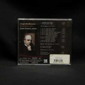 Jouni Somero Sergei Bortkiewicz Piano Works Vol. 2 CD 2