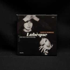 Katia & Marielle Labeque Piano Fantasy Music For Two Pianos Used 6 CD Box Set 1