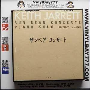 Keith Jarrett Sun Bear Concerts Piano Solo REcorded in Japan Used 5 Cassette Box Set 1