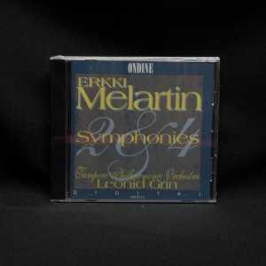 Leonid Grin Tampere Philharmonic Orchestra Erkki Melartin Symphonies 2 & 4 CD 1