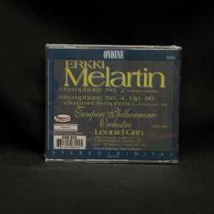 Leonid Grin Tampere Philharmonic Orchestra Erkki Melartin Symphonies 2 & 4 CD 2