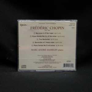 Marc-Andre Hamelin Chopin Sonatas Nos. 2 & 3 Two Nocturnes Berceuse Barcarolle CD 2