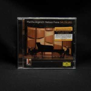 Martha Argerich Nelson Freire Salzburg CD 1
