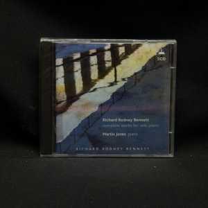Martin Jones Richard Rodney Bennett Complete Works For Solo Piano 2 CD Set 1