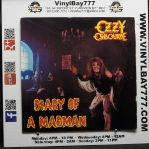 Ozzy Osbourne Diary of a Madman Used VG++ LP 1