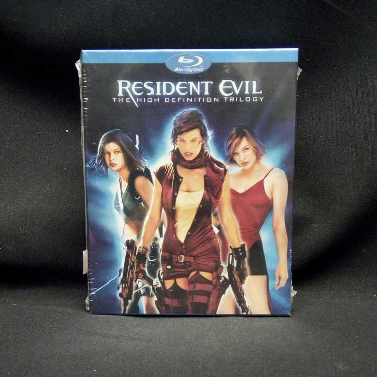 Sealed 3 Blu Ray Box Set Resident Evil The High