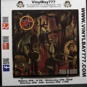 Slayer Reign in Blood Used VG++ LP 1