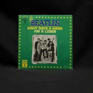 The Beatles Eight Days A Week I'm A Loser Used VG++ Import 7in Single 1