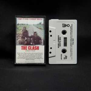 The Clash Combat Rock Used Black Case Cassette 1