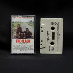 The Clash Combat Rock Used Clear Case Cassette 1