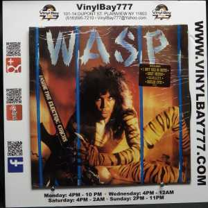 WASP Inside The Electric Circus Used M- LP 1