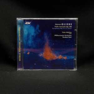 Yuko Nishino Philharmonica Orchestra Yondani Butt Reinhold Gliere Violin Concerto Op.100 Symphony No.2 in C Minor CD 1