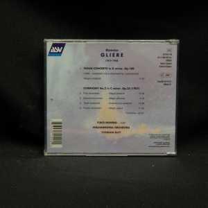 Yuko Nishino Philharmonica Orchestra Yondani Butt Reinhold Gliere Violin Concerto Op.100 Symphony No.2 in C Minor CD 2