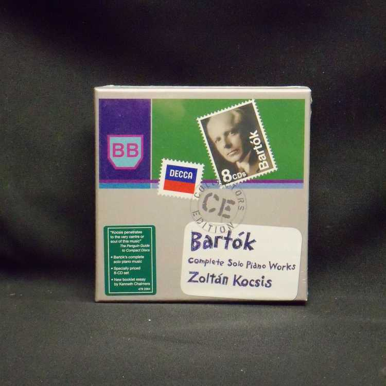 Sealed 8 Cd Box Set Zolt 225 N Kocsis B 233 La Bart 243 K Complete