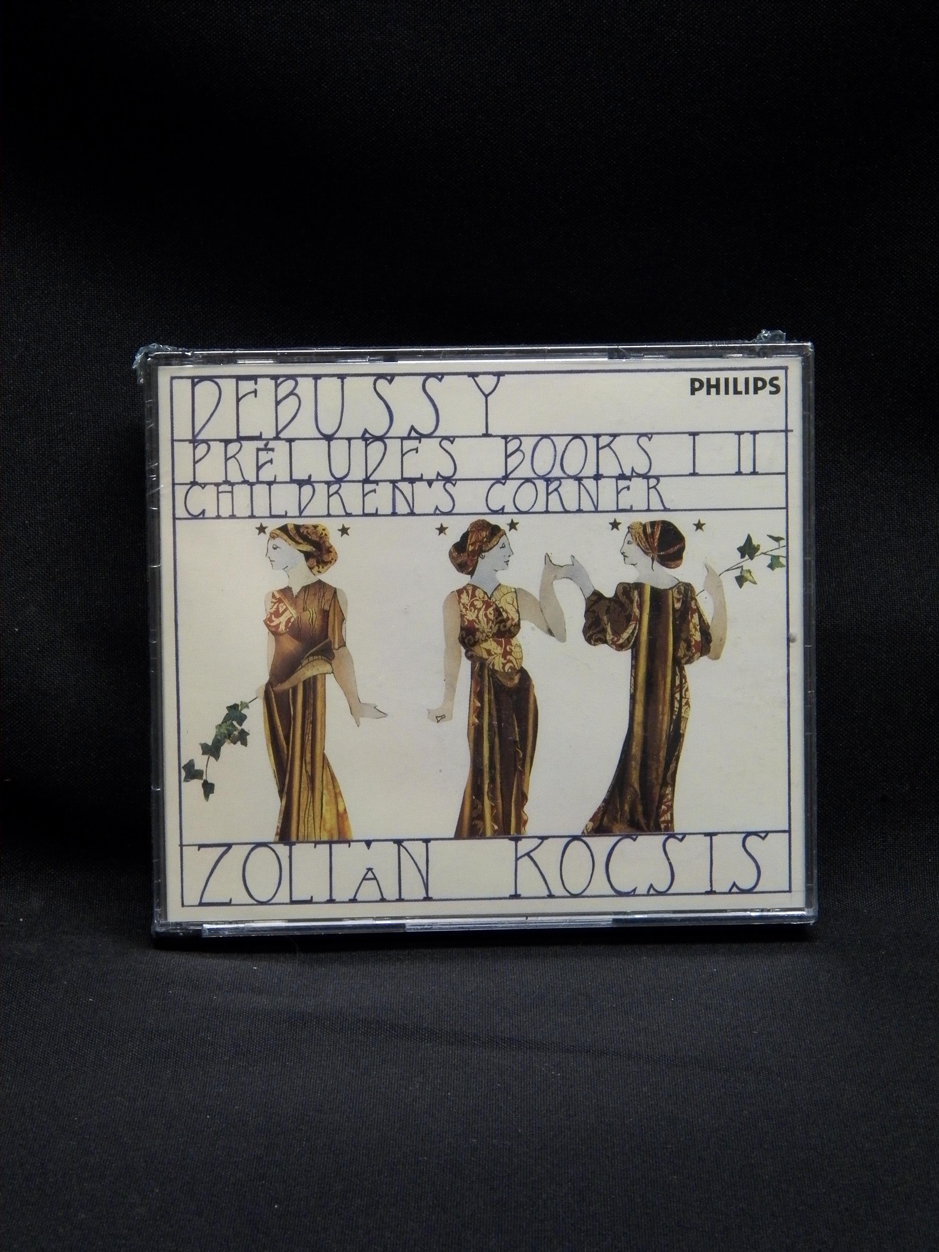 Sealed 2 Cd Set Zoltan Kocsis Debussy Preludes Books I