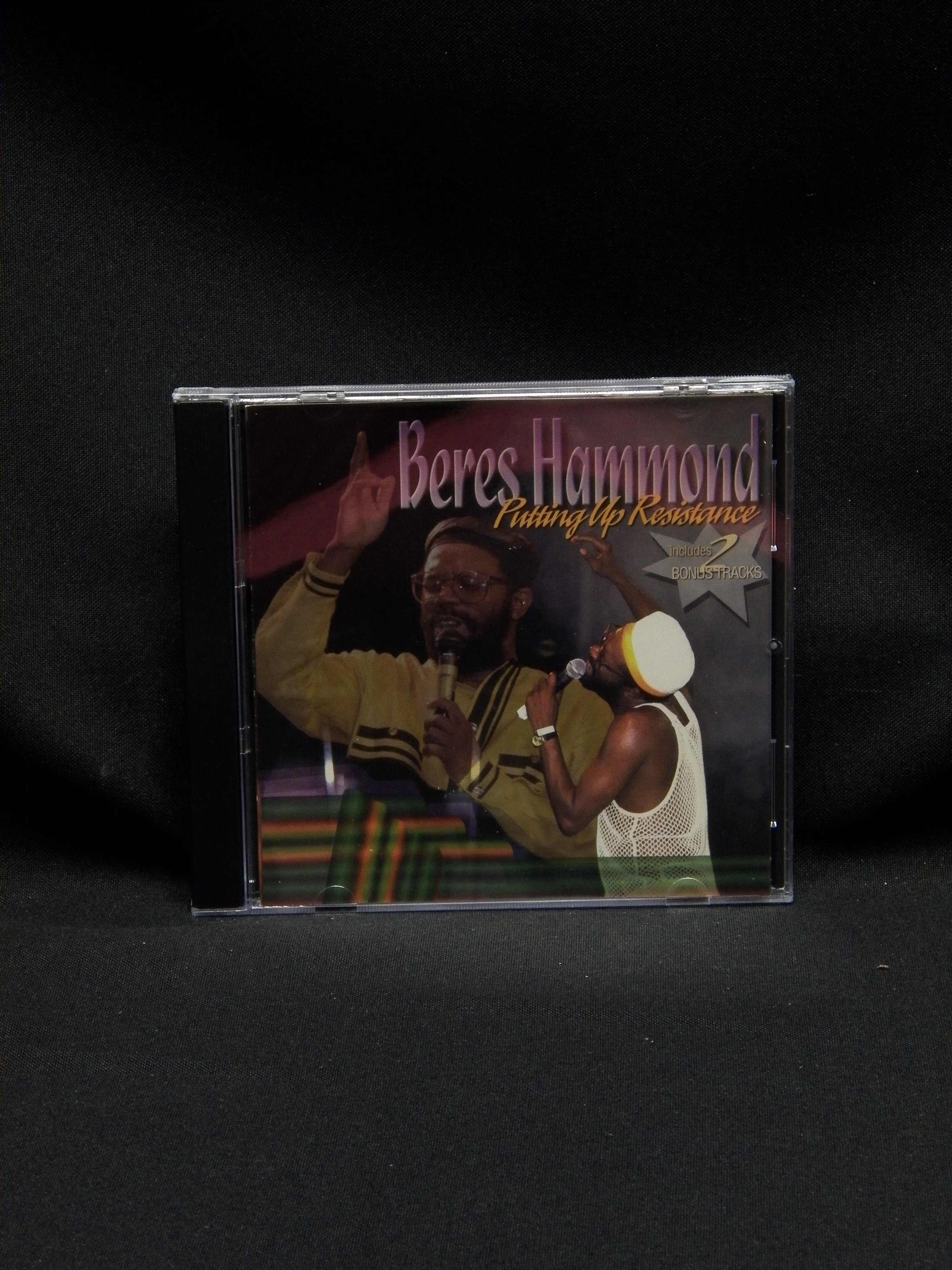 used cd beres hammond putting up resistance 1996 ras records
