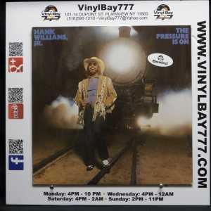 Hank Williams Jr. The Pressure Is On German Import LP 1