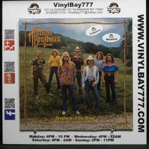 The Allman Brothers Band Brothers Of The Road German Import LP 1